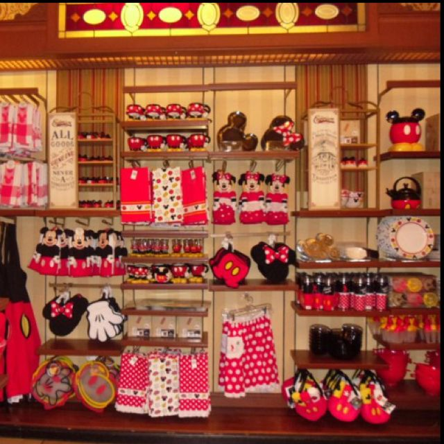 Disney Kitchen Items: I Want A Mickey Mouse Kitchen! Guess What I'm Doing Next