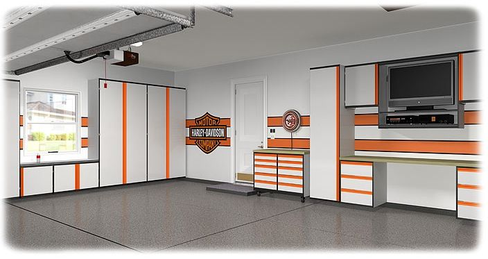 The guys at We're Organized build awesome custom garages!   http://www.wereorganized.net/garage-cabinets/