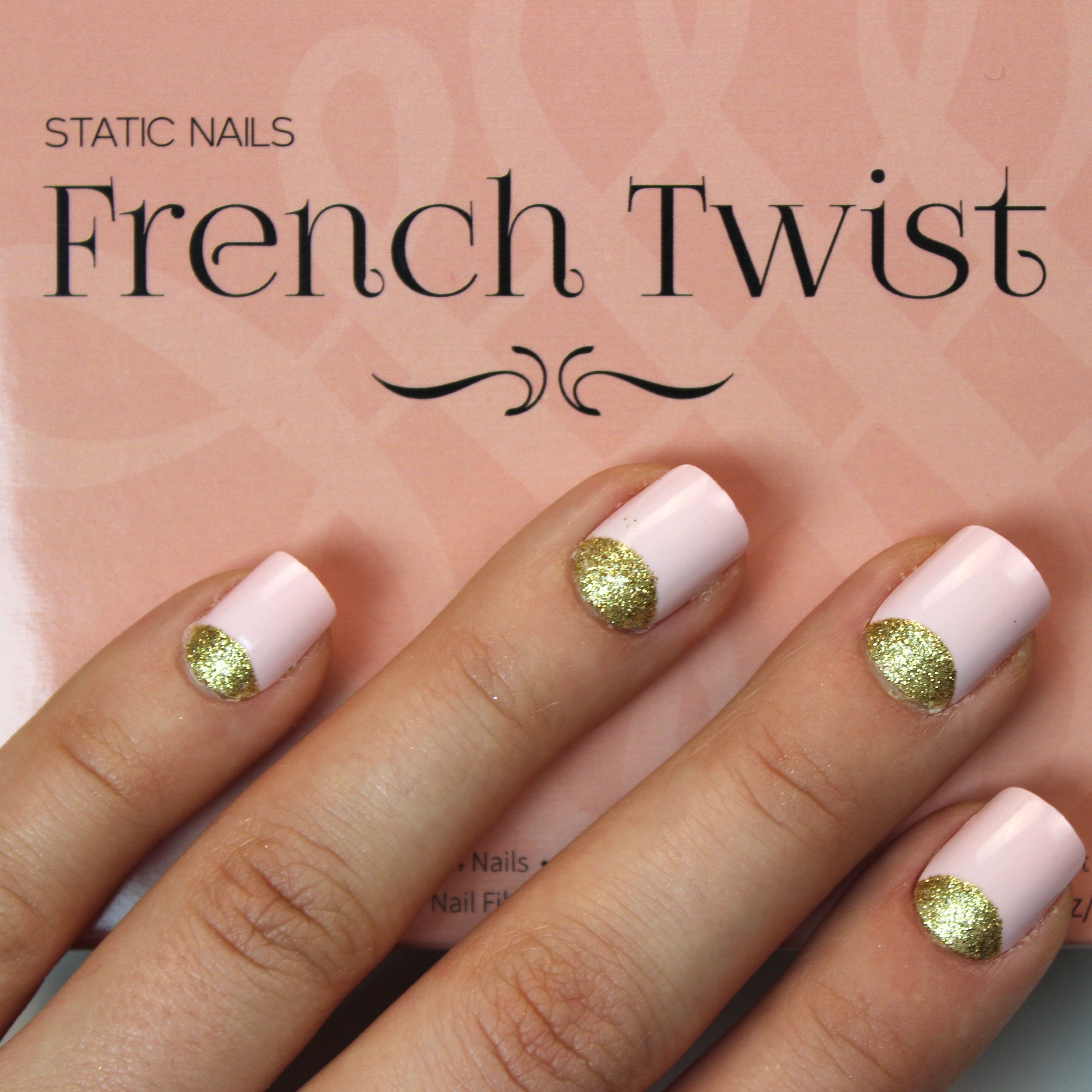 In LOVE with @Static Nails French Twist mani! | NOTD | Pinterest ...