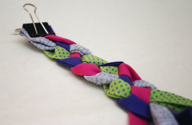 Four strand braid   Things Mom should make!   Pinterest   Trenza ...