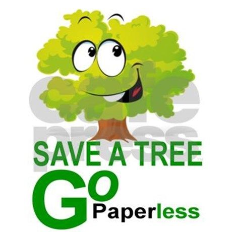 Go Paperless Save A Tree Remember That Missing Bill Enroll Your