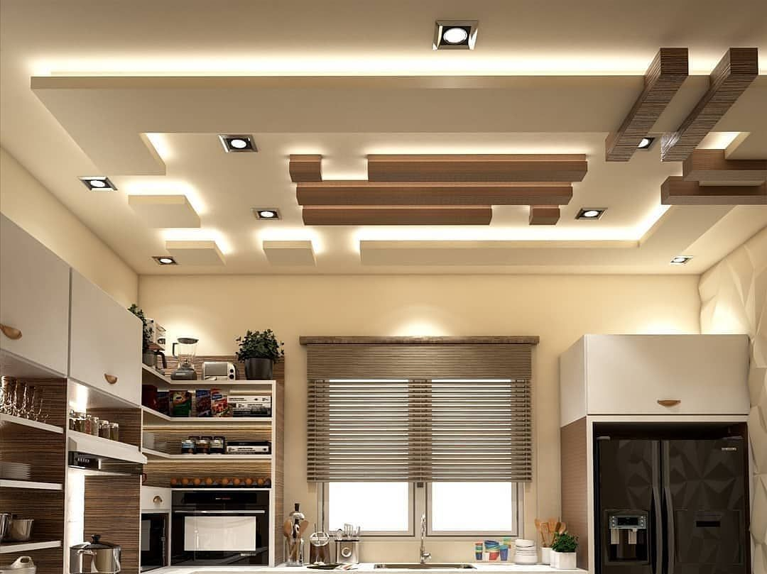 Kitchen Ceiling Ideas Vaulted And 3d Drop Ceiling In 2020