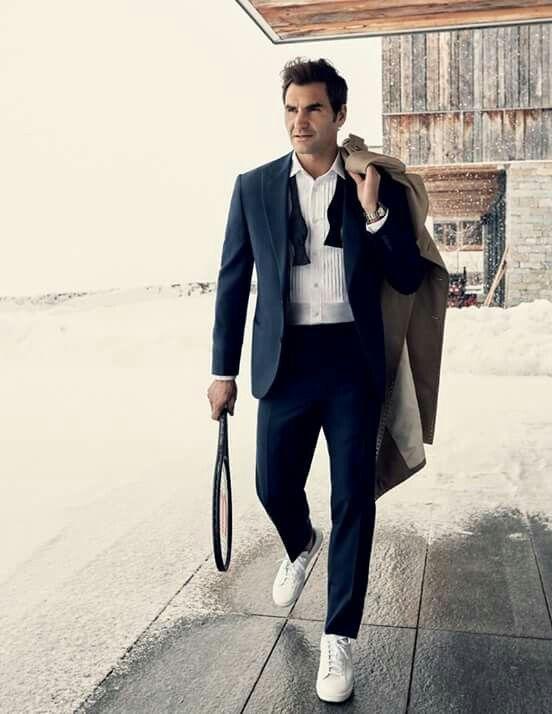 The Tennis Greats Roger Federer Roger Federer Tennis Fashion Gq Style