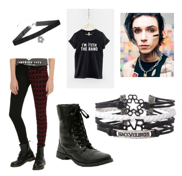 """""""I'm Wearing This For Rapper vs Rocker Day at School"""" by malloriemooney on Polyvore featuring Tripp"""