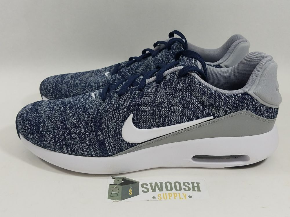 74e7e500318 Nike Air Max Modern Flyknit College Navy Men s Size 14 876066 400  Nike   AthleticSneakers