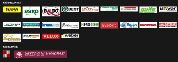 Partneři a dodavatelé firmy Dřevostavby - Plzeň, Plzeň Jih, Plzeň sever. Dřevostavby Juha - kvalitní dřevostavby kanadsko - amerického typu