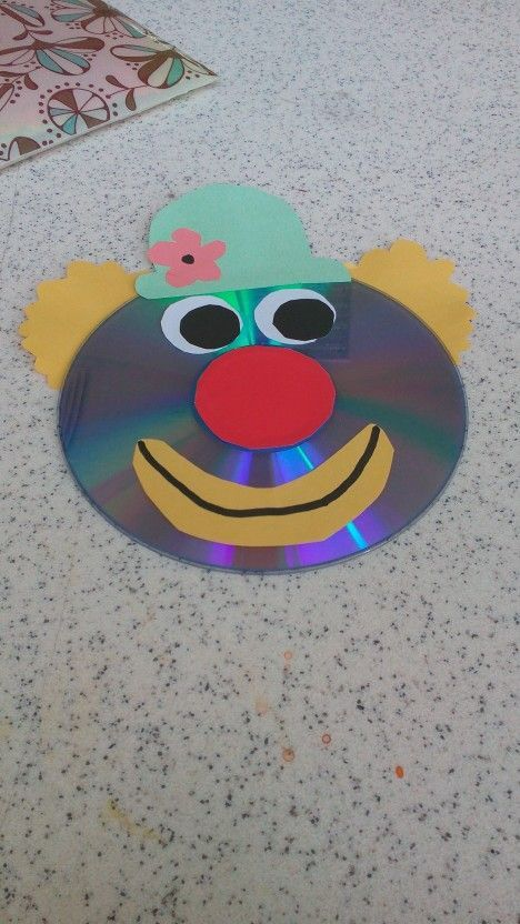 Clown Craft Idea 3 Fasching Basteln Grundschule Clown