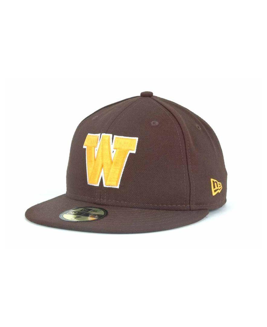 watch 967e8 333f6 New Era Wyoming Cowboys 59FIFTY Cap