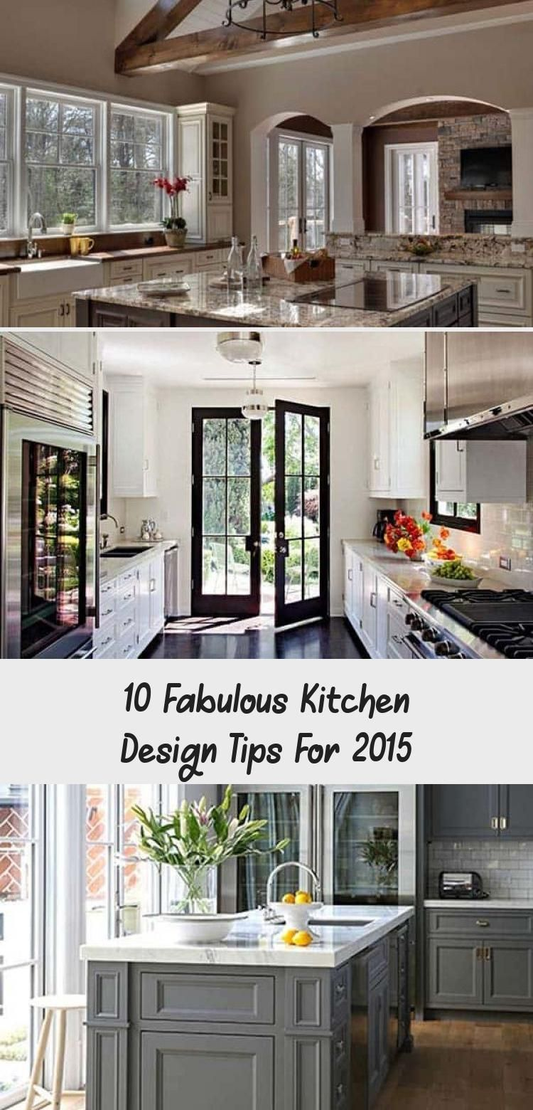 I Love The Dark Wood In This And I Love The Island Space I Always Dream Of Having A Big Island Thi In 2020 Kitchen Design Kitchen Interior Diy French Kitchen Design
