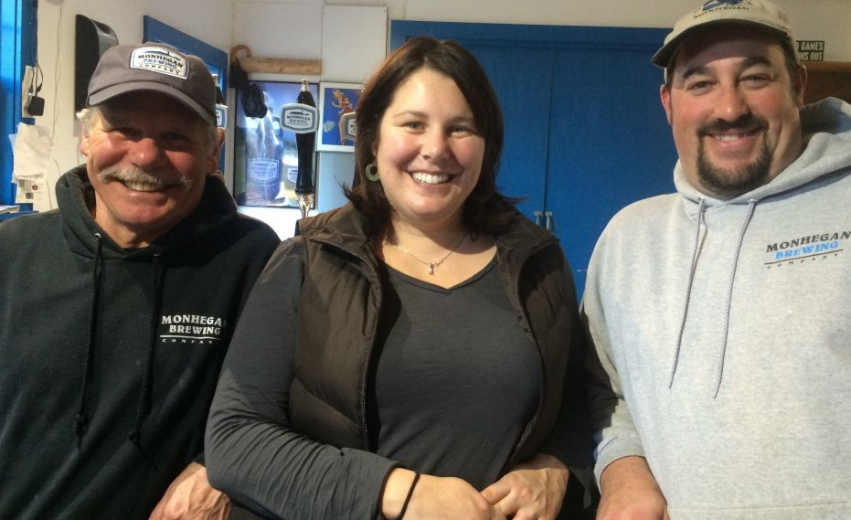 'Rather than focusing on getting beer out there to restaurants and stores, we decided to focus on getting people to come here,' says Mary Weber of Monhegan Brewing Co.