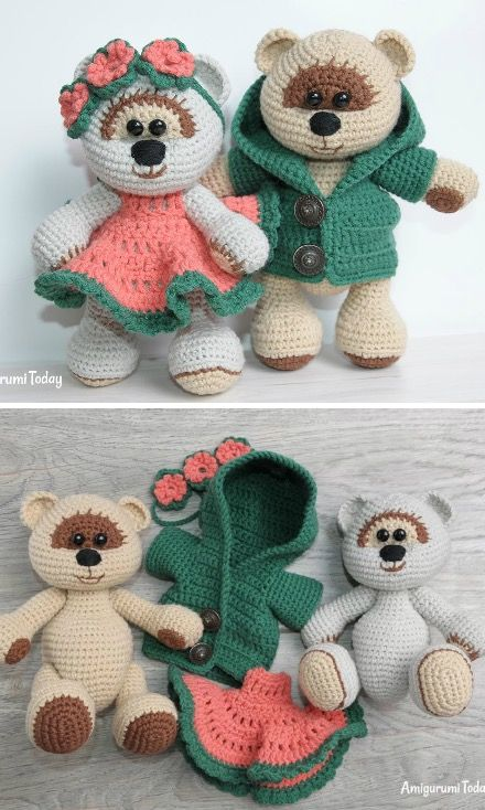 Tutorial - Orsetto Amigurumi (prima parte) - YouTube | 734x440