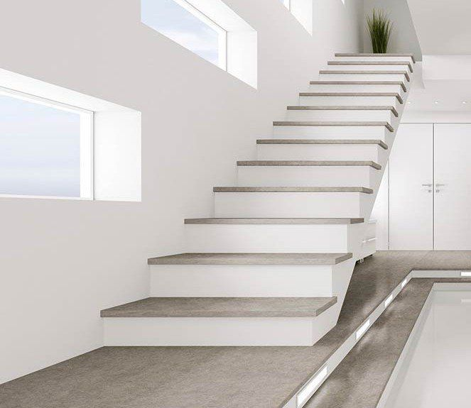 Dise o y construcci n de escaleras materiales escalera for Materiales para escaleras de interior