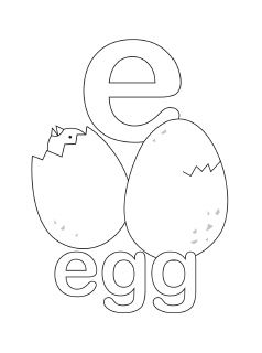 Free Printable Alphabet Coloring Pages In Lovely Original Illustrations English And Spanish Uppercase