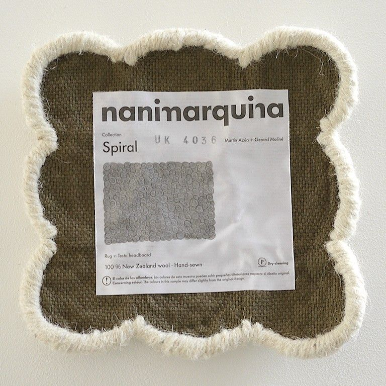 Tappeto Spiral Nanimarquina Rugs, Spiral, Wool