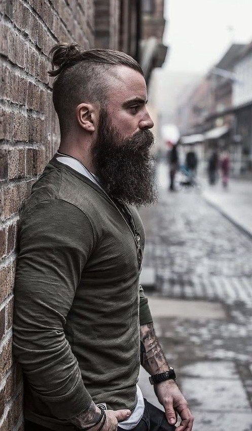 Photo of Trendy Long Beard And Hairstyle Combinations For Men