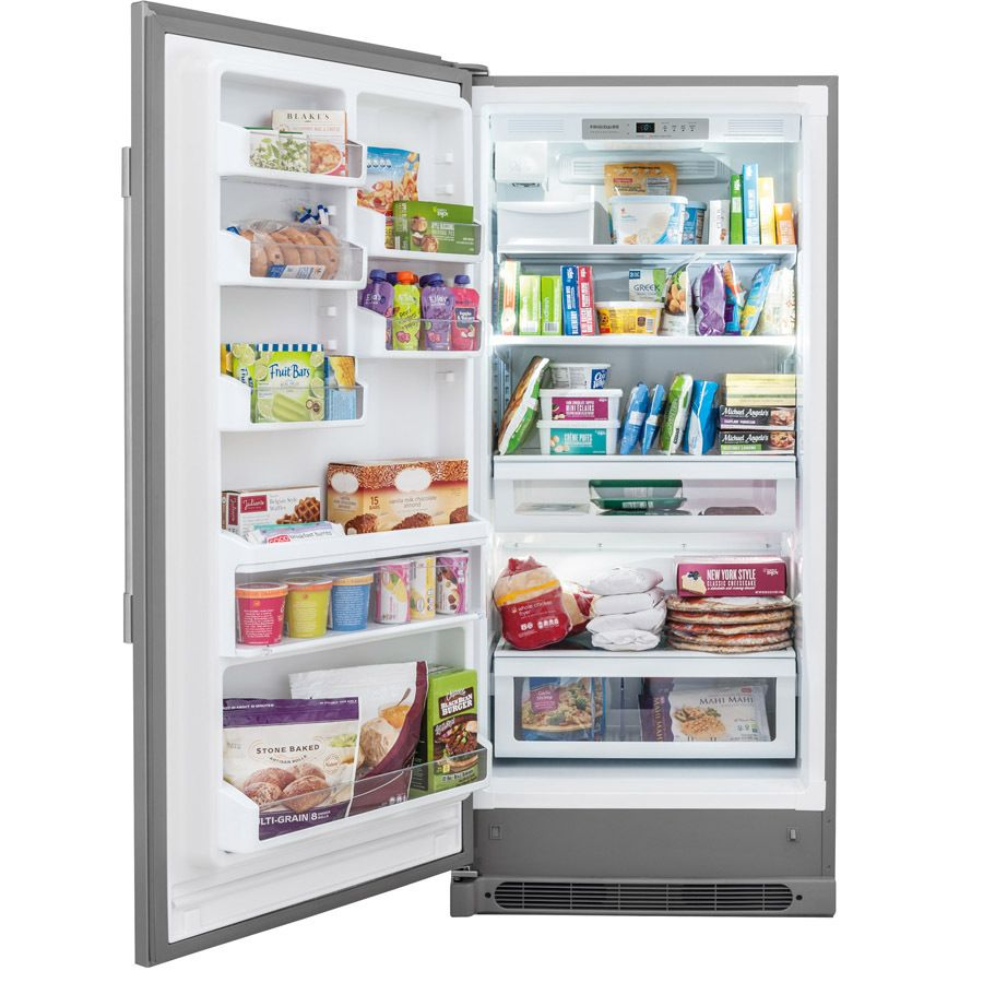 at lowes shop frigidaire 1858cu ft frost free upright freezer