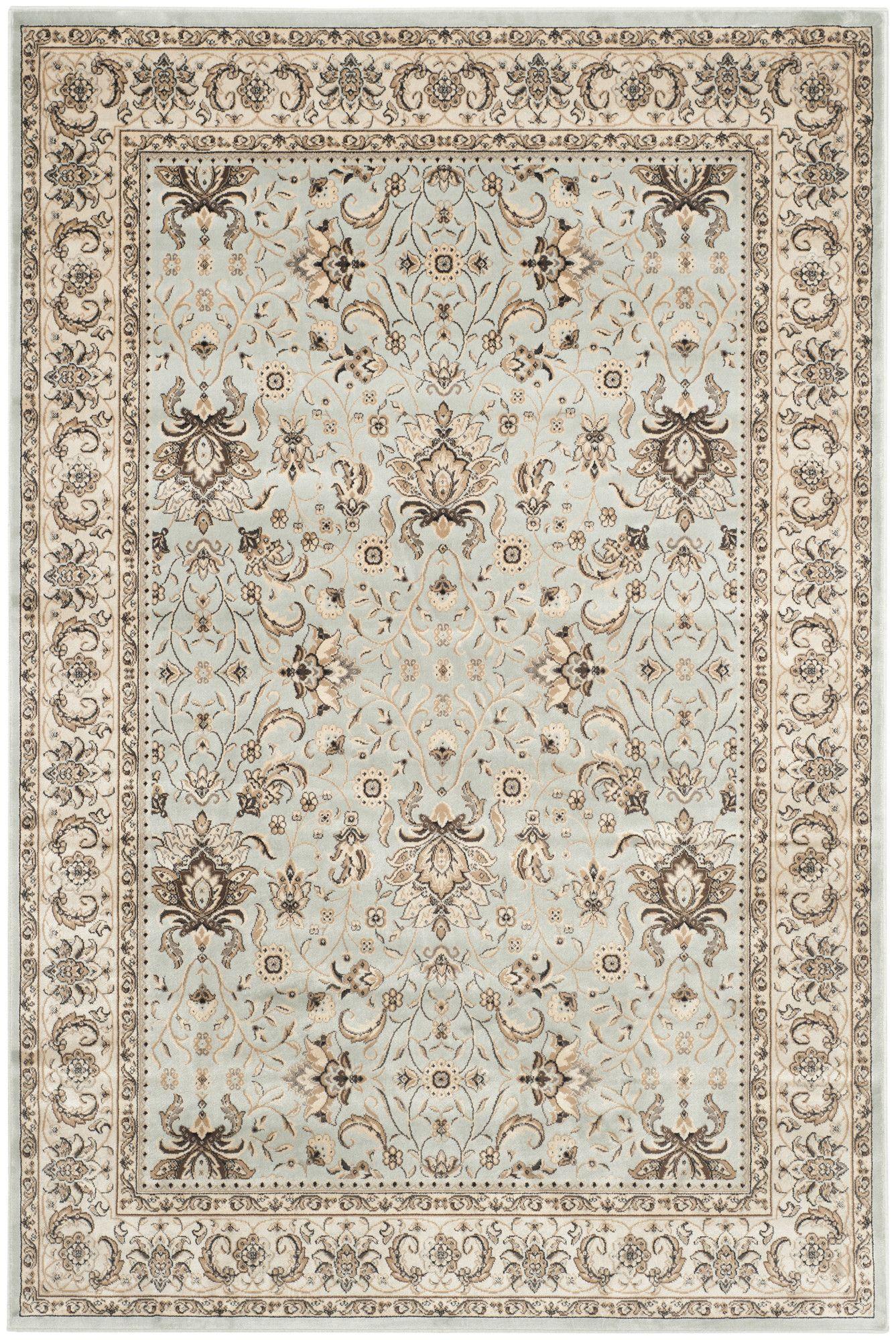 Petronella Oriental Light Blue Ivory Area Rug Rugs On Carpet Rugs Area Rugs