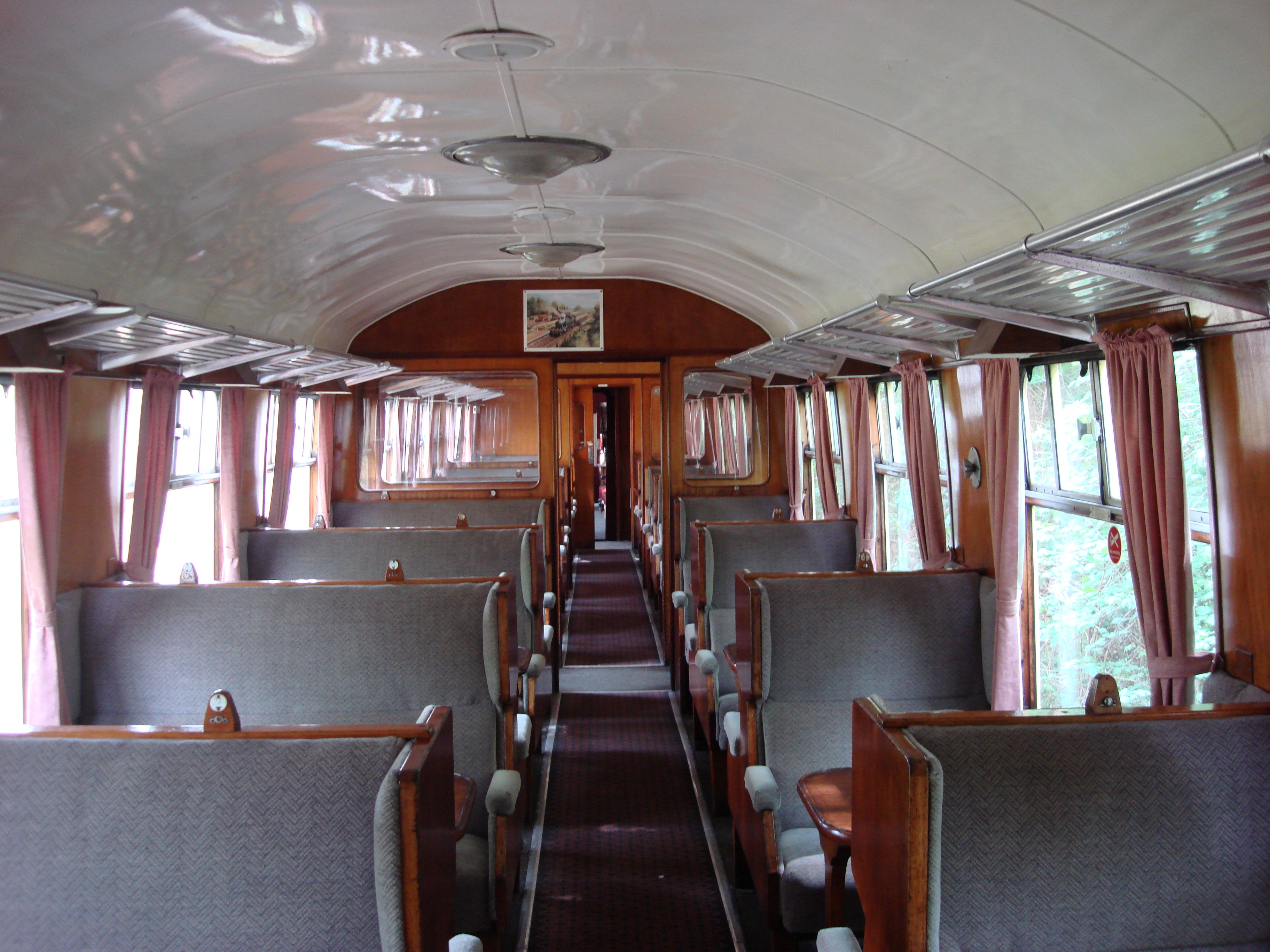 British Interiors File Br Mk1 Coach 1st Class Interior