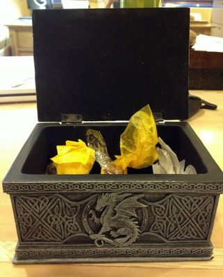 RARE Game Of Thrones Dragon Box from Season 3 Premier in Hollywood. Gift for invited guests. Perfect box for storing cards and memorabilia. Crazy collectors item.