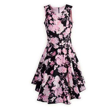 Floral Fashion Tween Girl s Drop-Waist Dress  461ef9e383d0