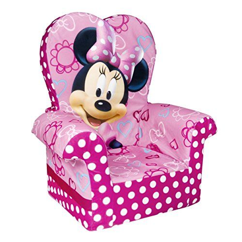Beau Furniture Children Marshmallow High Back Chair Minnie Mouse   Play Tables U0026  Chairs