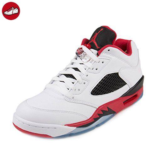 size 40 2c88c 0c369 Nike Herren Air Jordan 5 Retro Low Basketballschuhe, Weiß, 44 EU  Amazon.de   Schuhe   Handtaschen