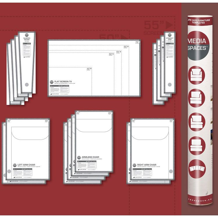 Plan A Space Furniture Templates Use This Ultimate Space Saving Tool To
