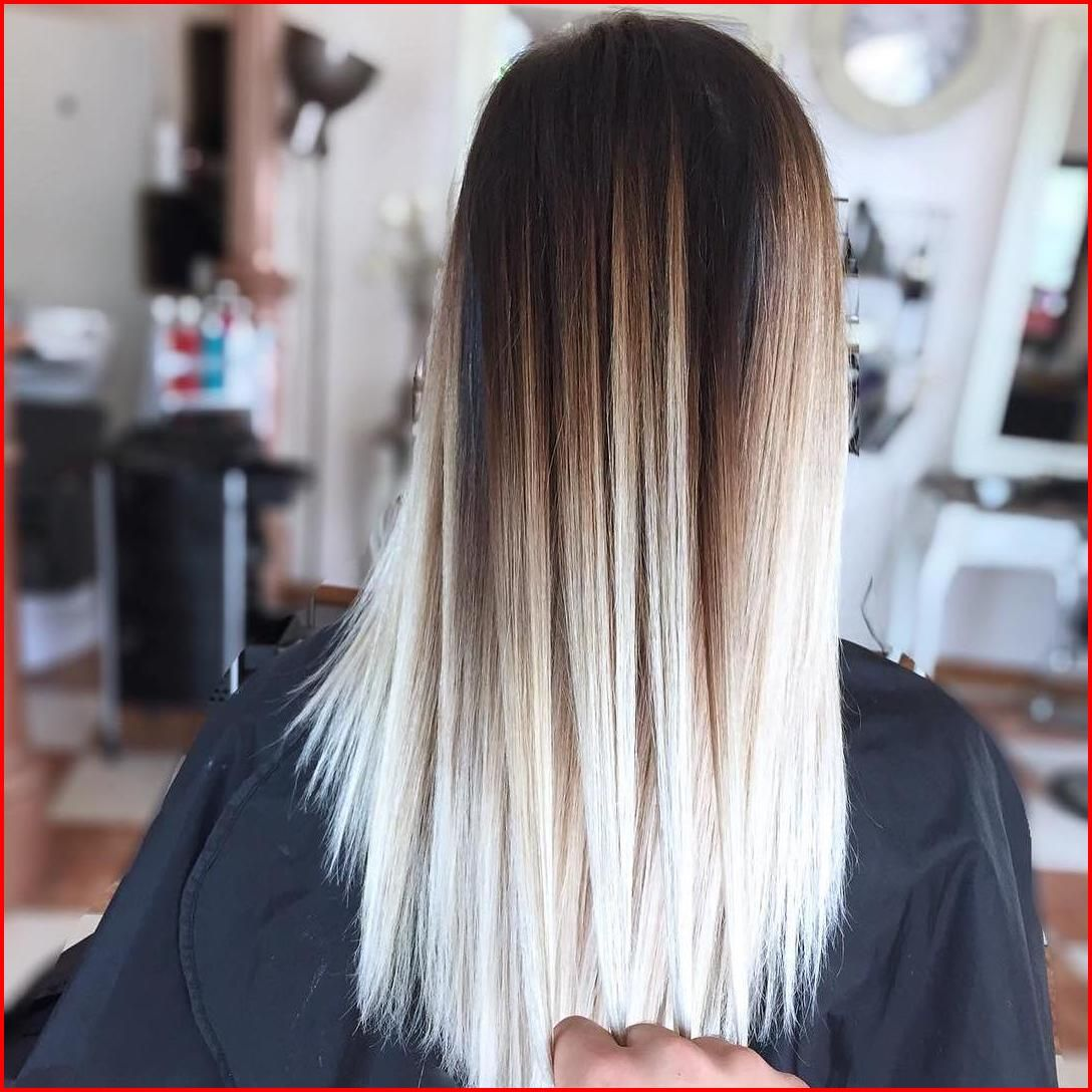 White And Black Hair Color Ideas Hair Color For Black Hair White Ombre Hair Brown Ombre Hair