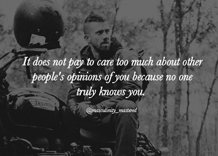 I love when some people try and voice their opinion about you and they don't really even know you. I...