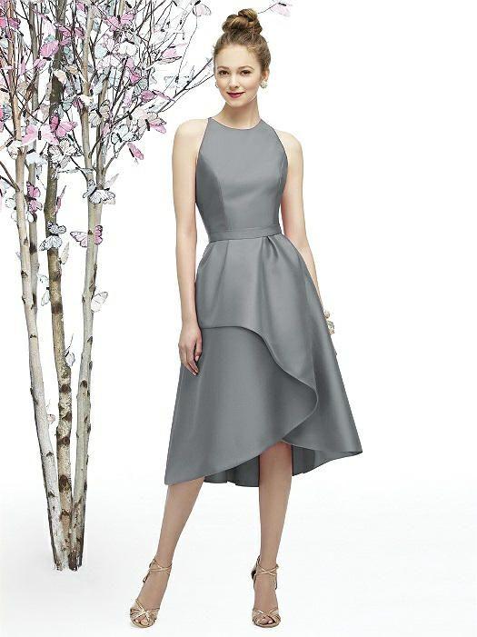 Lela Rose Style LR206   Lela rose, Draped skirt and Tea length