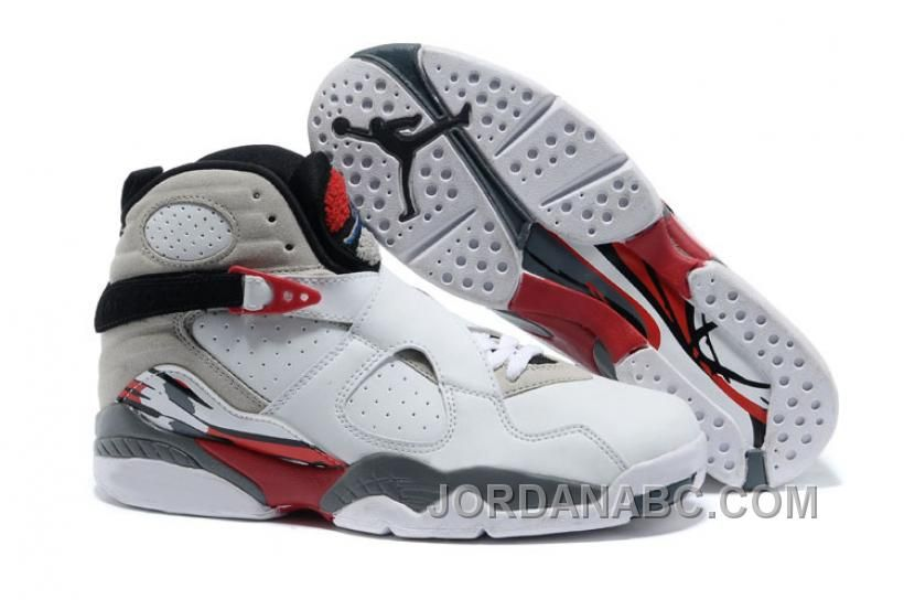 "Air Jordans 8 Retro ""Bugs Bunny"" White/Black-True Red For Sale, Price:  $92.00 - Air Jordan Shoes, New Jordans"
