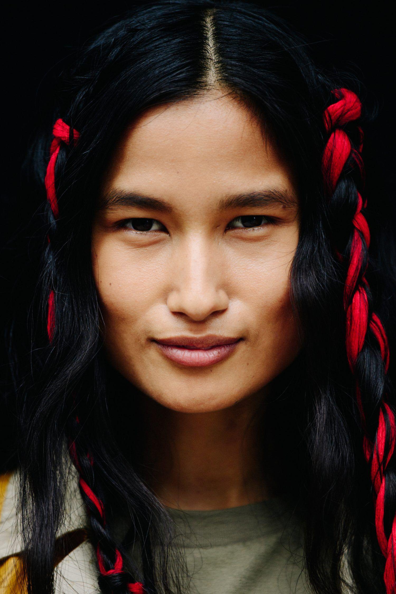 Varsha Thapa New York City via Le 21ème Unique faces