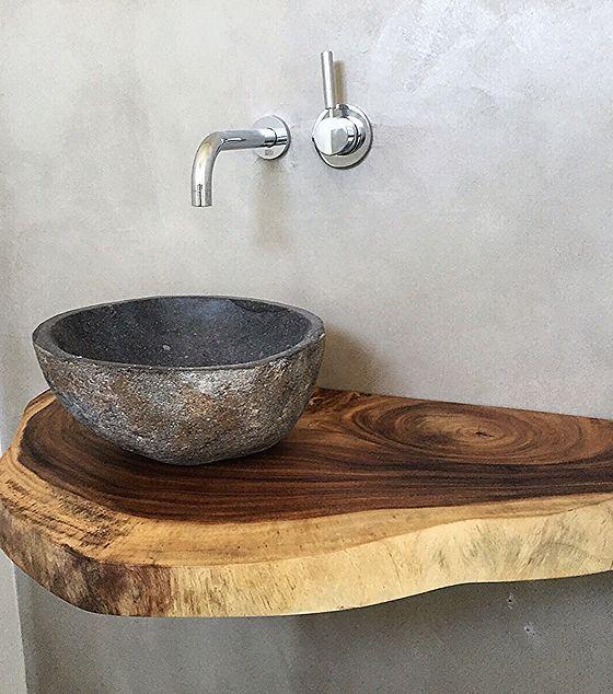 Holz Waschtische Waschtischplatten Massiv Auf Mass Badezimmer Holz Waschtisch Holz Badezimmer Rustikal