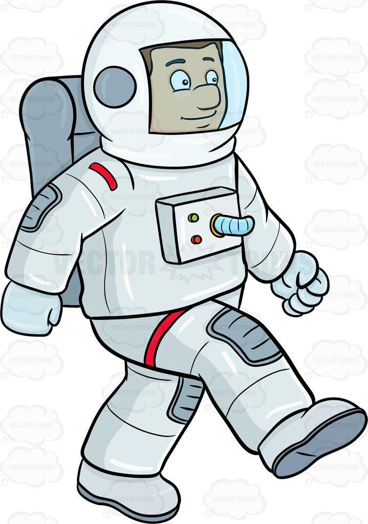 A male astronaut enjoy striding on a foreign surface #air ...