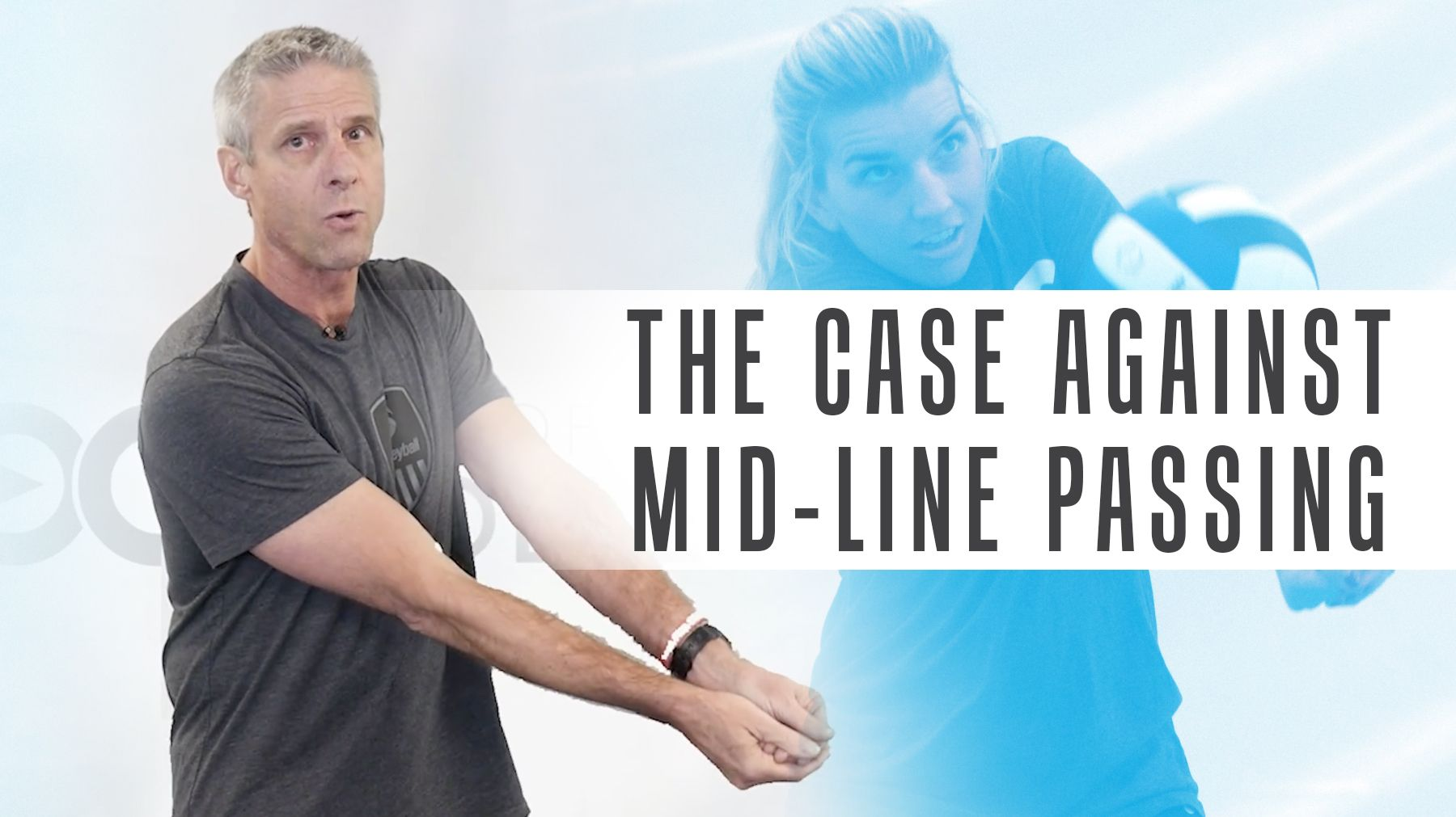 Karch Kiraly S 2 Minute Take The Case Against Mid Line Passing The Art Of Coaching Volleyball Coaching Volleyball Volleyball Coaching