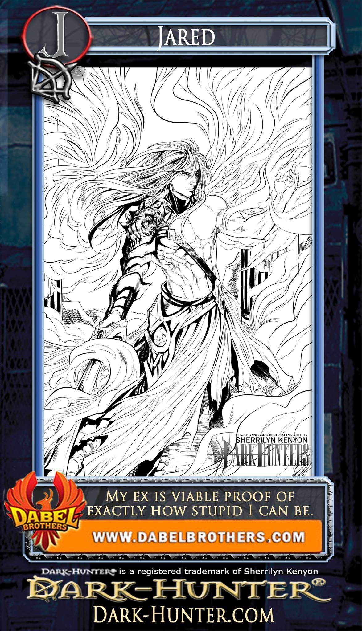 Sherrilyn Kenyon Fav Characters By Rainbowcat22 On Deviantart