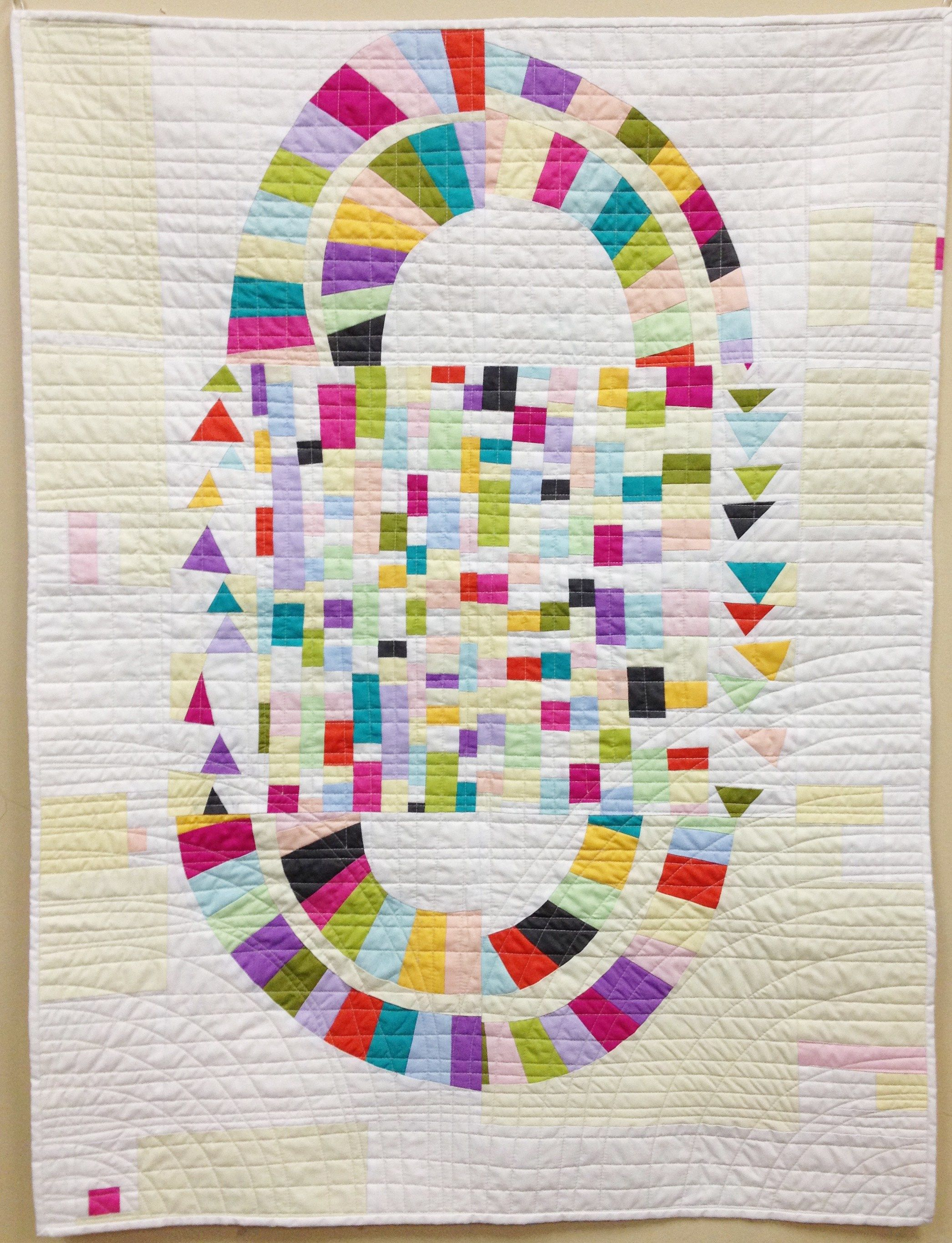 LuckyDay Quilt by Cynthia Frenette