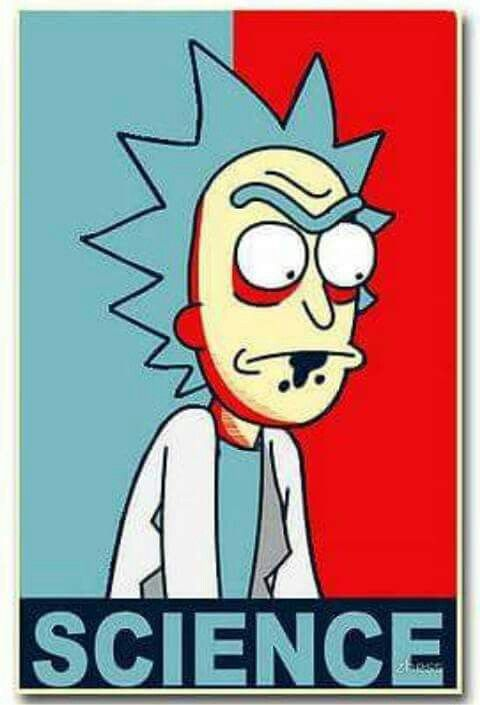 I\'m a man of science Morty\