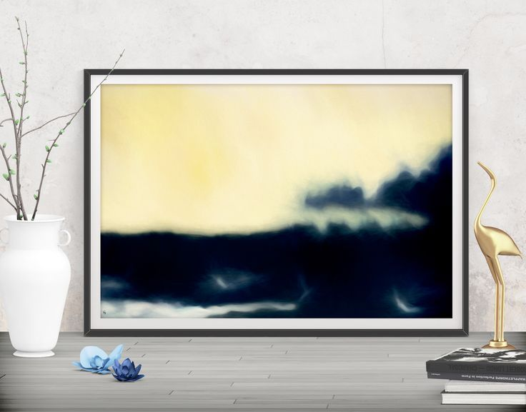 Add a luxurious touch with this blue large abstract. Shop printables ...