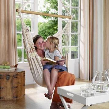 Hängestuhl Modesta - Natur Hängesessel für Wohnzimmer und - hängesessel für wohnzimmer