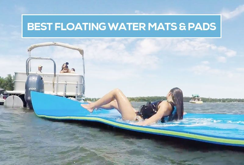 If You Want Fun On The Lake Then A Floating Foam Water Pad Or Mat Is A Great Choice Ideal For Pontoon Boats And Ot Pontoon Pontoon Boat Offshore Fishing Boats