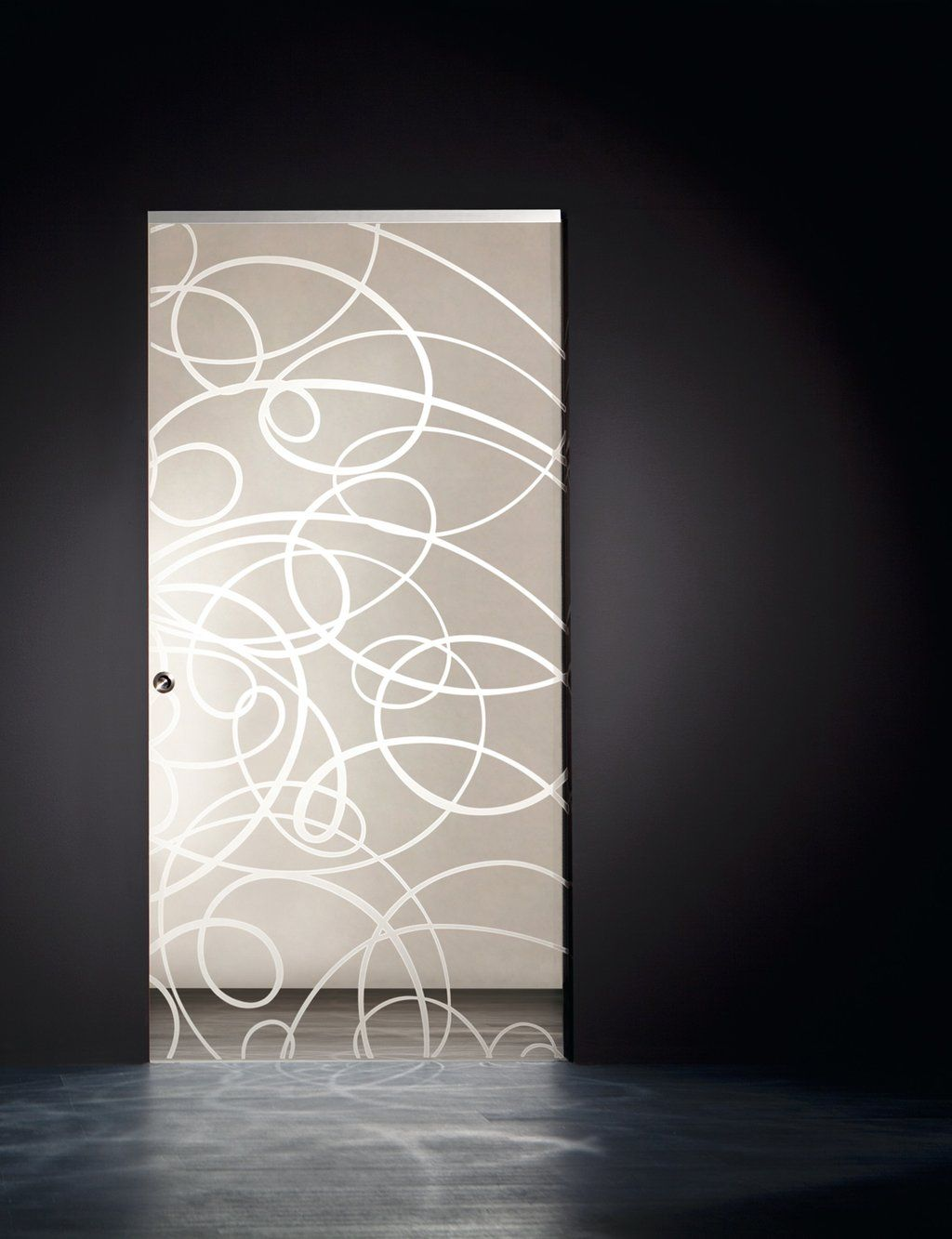 Frameless glass interior doors - Aura Etched Pocket Door Frameless Glass Doors Http Www Modernus