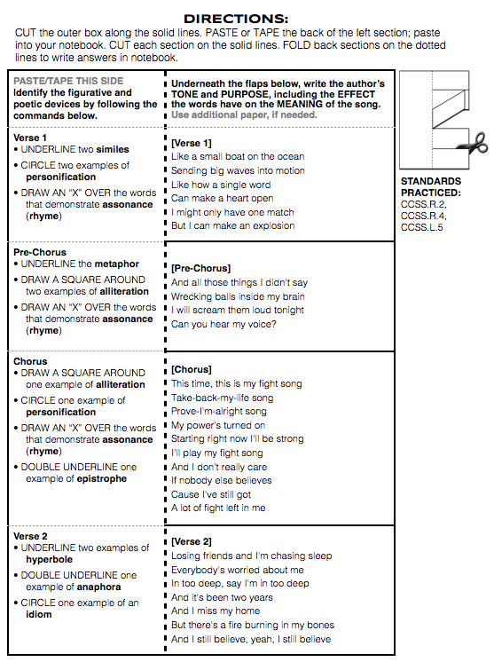 3 FREE Figurative Language Worksheets by Stacey Lloyd | TpT