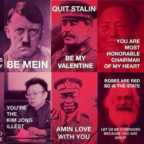 Quit Stalin And Be My Valentine Politics Pinterest Funny