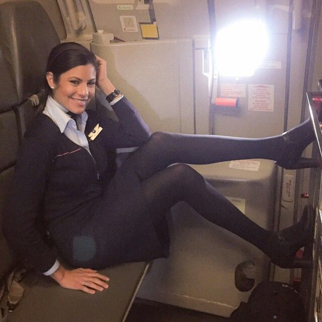 Jetblue Stewardess Brhitney  Fly Girls  Cabin Crew -5473