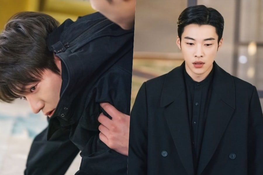 "Woo Do Hwan Watches Over An Injured Lee Min Ho In ""The King: Eternal Monarch"""