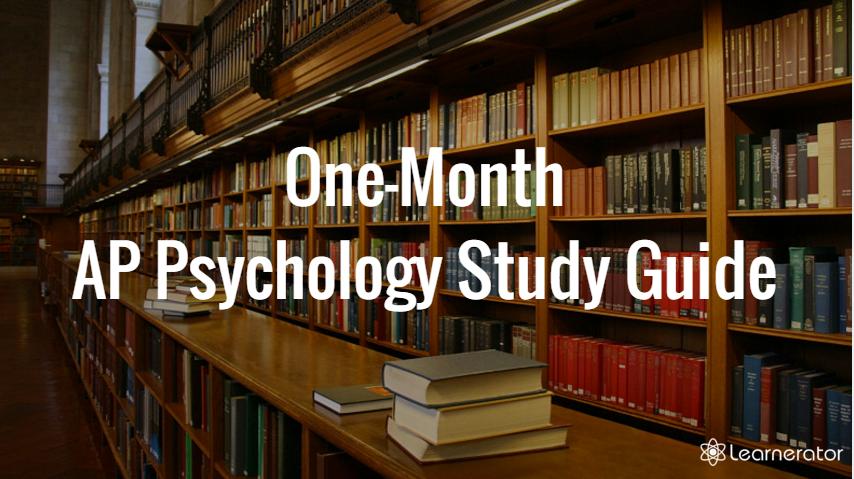 ap psychology study guide pdf