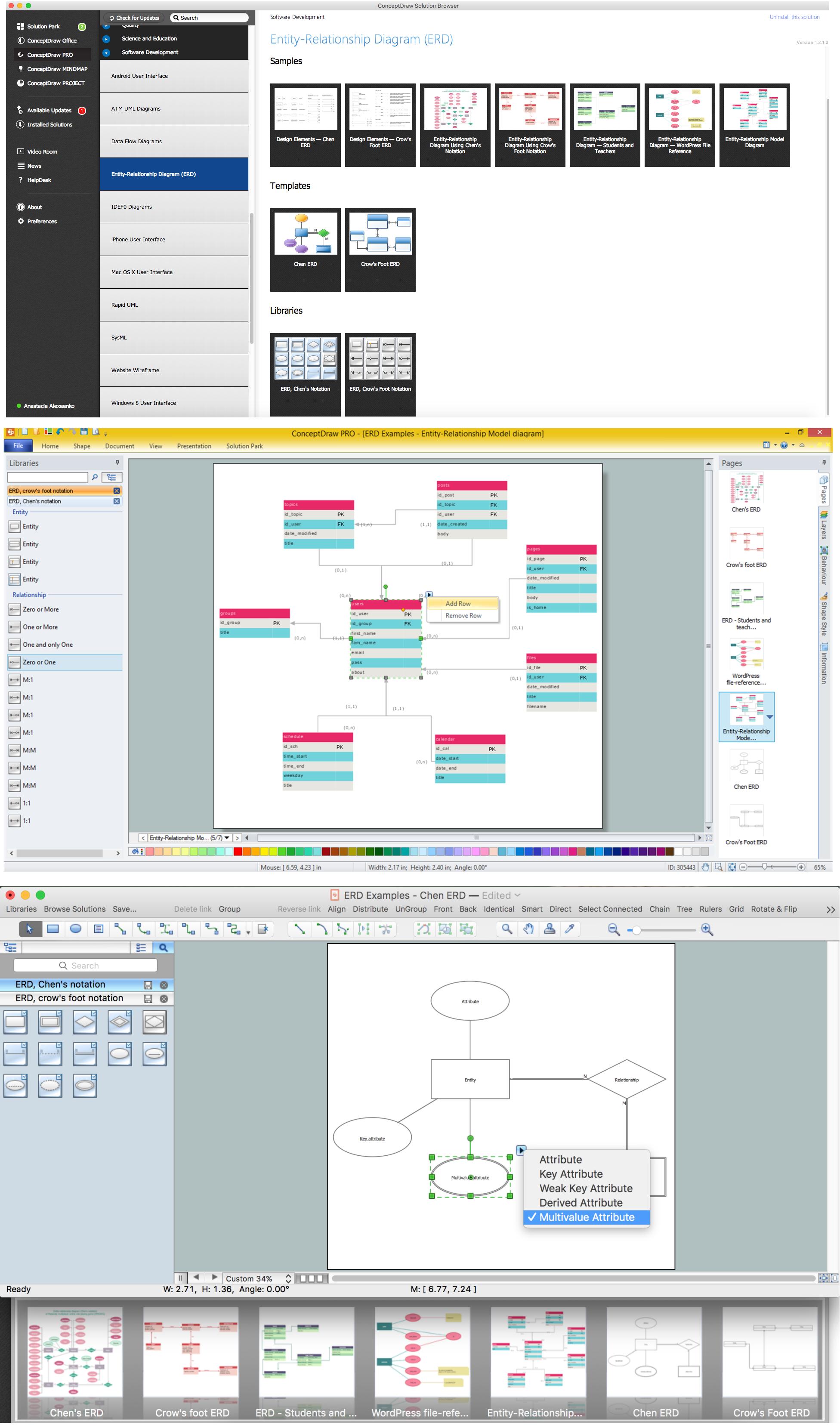 44 Simple Er Diagram Builder Design Ideas S