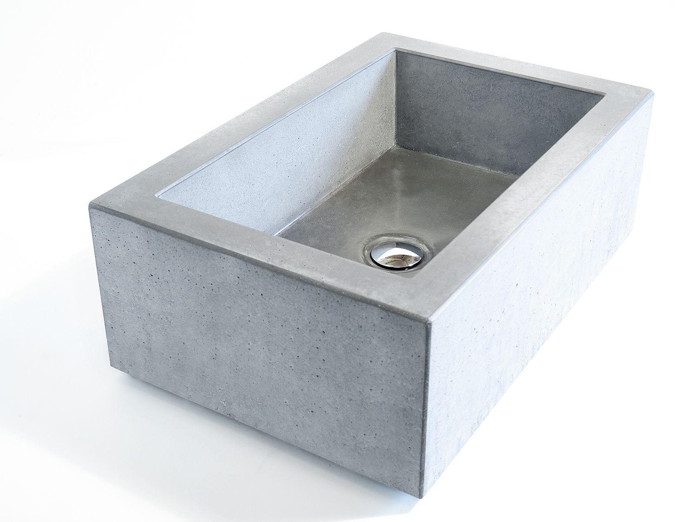 Concrete Sink Like This One Made By German Manufacturer Westwerke In Berlin Custom For A Customer Austria