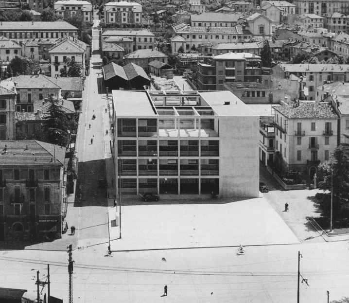 Giuseppe terragni casa del fascio como italy 1932 for Arredi interni san giuseppe vesuviano